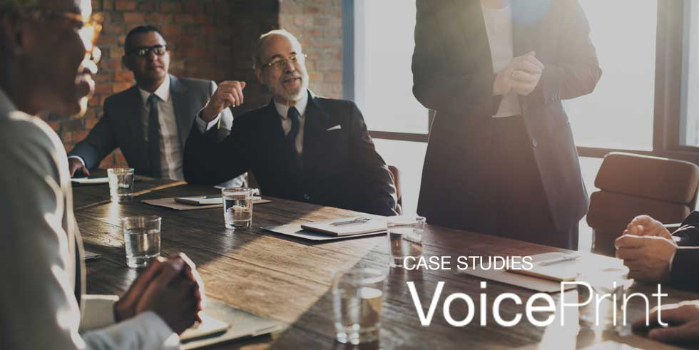 Developing teams with better meetings using VoicePrint